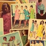Fashion in the 1960s was very colorful and full of life!