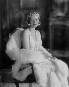 Her Royal Highness Princess Filiberto of Savoy-Genoa (1905–1977) née Her Serene Highness Princess Lydia of Arenberg