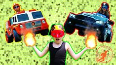 New Sky Kids Super Episode - Little Heroes Fire Engines, Police Cars and Heroes - YouTube