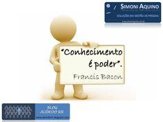 Conhecimento é poder, por Francis Bacon