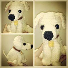 Labrador amigurumi / crochet