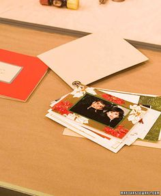 During the holidays, an almost daily influx of greeting cards and family photos can be expected. Don't leave them piled in your letter basket. Make a holiday-card scrapbook, and enjoy them long after the stockings and ornaments are put away.