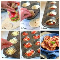 Mini Pizza Tortilla Recipe