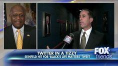 'Get A Life': Herman Cain Slams Critics of Seinfeld's 'Black's Life Matters' Joke