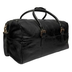 b0095eaa98a2 Hidesign Charles Leather Cabin Travel Duffle Weekend Bag. Fashion ShoesLeather  MenLeather ...