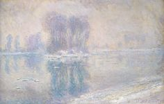 Monet 1893, Ice Floes, Canvas Print, Fade Resistant HD Print or Canvas in Art, Prints | eBay