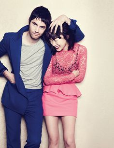 It's rare to see mixed nationalities in an editorial spread! Bae Doo Na & Jim Sturgess for Harper's Bazaar Korea