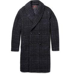 MP di Massimo Piombo - Baby Alpaca-Blend Shawl-Collar Overcoat|MR PORTER