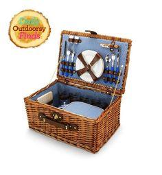 I just saw the exact same picnic basket at goodwill for $10.00! C Wonder Picnic Basket, $128