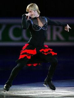 "Evgeni Plushenko ""The King of the Ice"" - Russia."