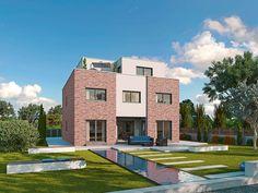 Sehr edel und imposant. Dieser Entwurf ist wirklich für anspruchsvolle Bauherren gedacht. Foto: Franz Gussek GmbH