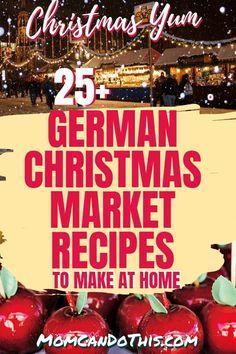 German Christmas Food, German Christmas Traditions, German Christmas Markets, Christmas Cooking, German Christmas Decorations, Christmas Gingerbread, Deutsche Desserts, German Desserts, German Recipes