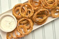 Baked Onion RIngs--Gotta try this!