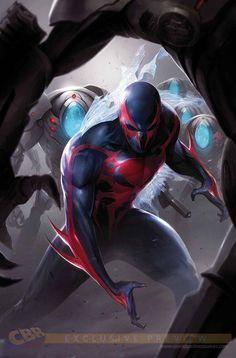 Spider-Man 2099 #3 - Miguel O'Hara by Francesco Mattina