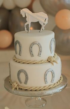 Most up-to-date Images Western Decor for quinceanera Concepts If you are a dodgy (or cowgirl) in your mind, perhaps many experts have a fantasy connected with the one you h. Horse Theme Birthday Party, Cowboy Birthday Cakes, Cowgirl Cakes, Horse Party, Cowgirl Party, Country Birthday Cakes, Western Wedding Cakes, Western Cakes, Cake Wedding