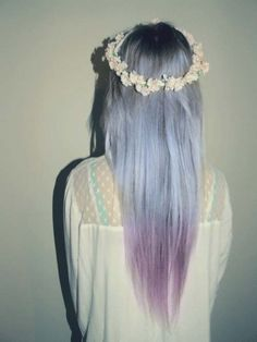 Ice Purple hair