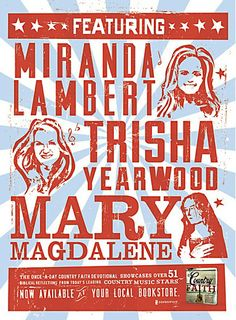 Country Faith ads by Extra Credit Projects Communication Art, Faith Bible, Country Music Stars, Miranda Lambert, Print Ads, Letterpress, Advertising, Extra Credit, Design Inspiration
