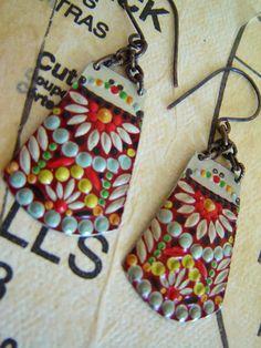 These earrings scream summer!
