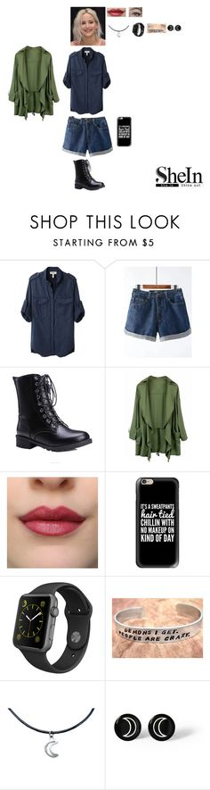 """""""New Shein Contest #3"""" by leacousty55 ❤ liked on Polyvore featuring Étoile Isabel Marant, Casetify and Apple"""