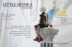 The My dolls photographer of Little Monica  on 25th Sep, 2017  is  020110!  ♥ Thank you very much for your beautiful photos ♥ www.littlemonica.co.kr