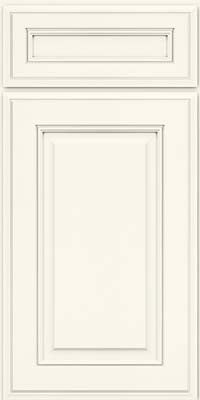 KraftMaid Cabinets -Square Raised Panel - Solid (AA5M) Maple in Dove White from waybuild