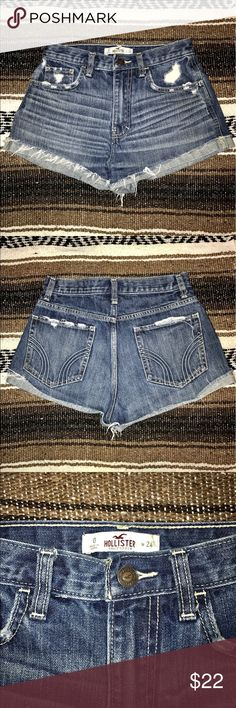 Hollister Festival Shorts🌸 These were my favorite shorts but sadly they are too small now. 😪 They are a nice dark wash and are very comfortable. Please let me know if you have any other questions! 😄🌸🎀 I ship within 1-2 business days 🌺 Smoke free Animal free household 🎀 Top Rated Seller 🌺 I discount bundles!  🎀 I will work with you on pricing 🌺 I also happen to be a broke college student so I'm am always willing to trade if I see something I like in your closet! Hollister Shorts…