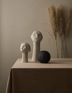OLLIE Sand | Cooee Design OLLIE is a beautiful sculpture designed by the Swedish artist Kristiina Haataja in collaboration with Cooee Design. The sculpture has a rough surface that creates beautiful contrasts with Cooee's products with matte surface. #modernsculpture #sculpture #swedishdesign #cooee