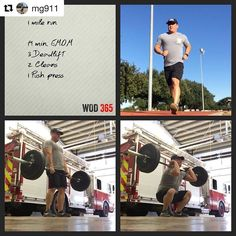 FIREFIGHTER FITNESS #Repost @mg911 Nice little WOD to get my sweat on a shift day . Want to be featured? Show us how you train hard and do work Use #555fitness in your post. You can learn more about us and our charity by visiting WWW.555FITNESS.ORG #fire #fitness #firefighter #firefighterfitness #firehouse #buildingastrongerbrotherhood #workout #ems #engine #truckie #firetruck #pastparallel #damstrong #charity #nonprofit #fullyinvolved #firefit #fitfirefighter #cheifmiller #fdic2017…