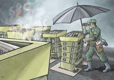 Ilustração de capa para Revista Espaço Imóvel edição 55.