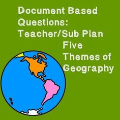 5 themes of geography essay questions