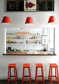 ¿Es una cocina o es un bar?