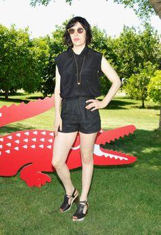 Kari Feinstein @ the Lacoste L!VE Desert Pool Party in celebration of the Music Festival in Palm Springs. April 13-15 2012.