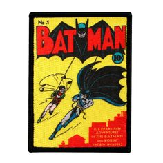 Adventures of Batman and Robin Issue 1 Retro by YourPatchStore