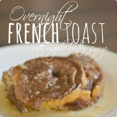 Overnight French Toast Square