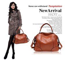 100% genuine leather bag Spring women leather handbag 2014 new hot first layer of cowhide women messenger bag shoulder bolsas - Fashionaudience.com