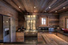 Rental Chalet ZIBLINE 8 people - 4 bedrooms in Megève - Real estate agency Megeve Barnes Luxury Ski Holidays, Chalet Design, Jacuzzi Outdoor, Open Fireplace, Ski Chalet, Spacious Living Room, Location, Lodges, Interior Design