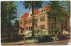 Santa Ana Ca Orange County Court House Vintage Postcard California Chrome County Court, Laguna Beach, Orange County, Chrome, Santa, California, Mansions, History, House Styles