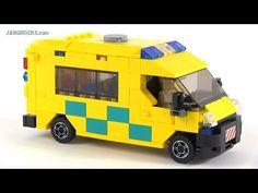Custom LEGO hospital MOC progress #7 - YouTube