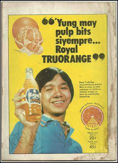 Royal TruOrange ad from Pioneer Komiks, October 1971 Vintage Labels, Vintage Ads, Philippines Culture, Filipiniana, Commercial Ads, October 25, Oldies But Goodies, Old Ads, Pinoy