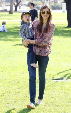 Miranda Kerr and Flynn.