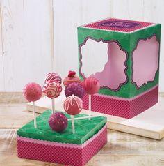 Birkmann Backform CakePop Baker CupCakes Rosa