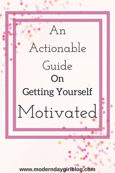 Keeping motivated whether you suffer from a mental illness or not