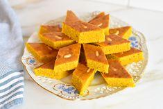 Lebanese Sfouf Cake - Rose Water & Orange Blossoms
