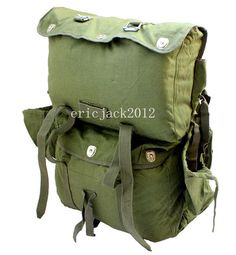 453d873e37a beautiful SURPLUS CHINESE ARMY PLA TYPE 65 PARATROOPER BACKPACK BAG -L341