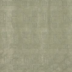Green, Geometric Squares And Rectangles Microfiber Upholstery Fabric By The Yard 1