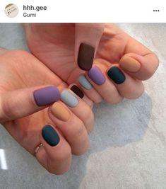 Best nails design autumn fall matte ideas Best nails design autumn fall matte ideas This image has get Nail Design Glitter, Nails Design, Salon Design, Glitter Nails, Nagellack Design, Nagel Hacks, Fall Nail Designs, Art Designs, Matte Nails