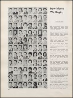 1961 Muncie Central High School Yearbook via Classmates.com
