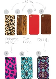 J Crew and other tots adorbs iPhone 4 cases (article & shopping)
