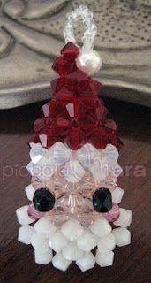 Pattern bijoux: Babbo Natale