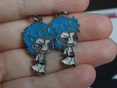 Grimmjow Earrings Bleach Anime Anime Charms by laminartz on Etsy, $6.00